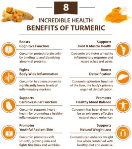 8 Health Benefits of Turmeric